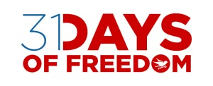 31 Days of Freedom logo